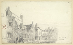St John''s Street, Cambridge, 1824